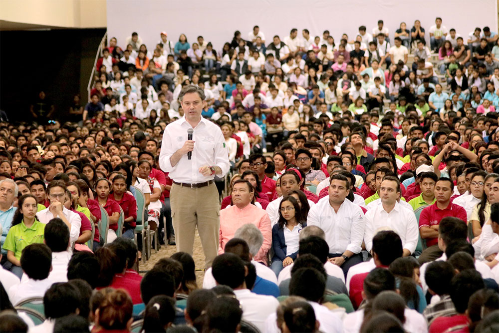 Mensaje del secretario de Educación Pública, Aurelio Nuño Mayer
