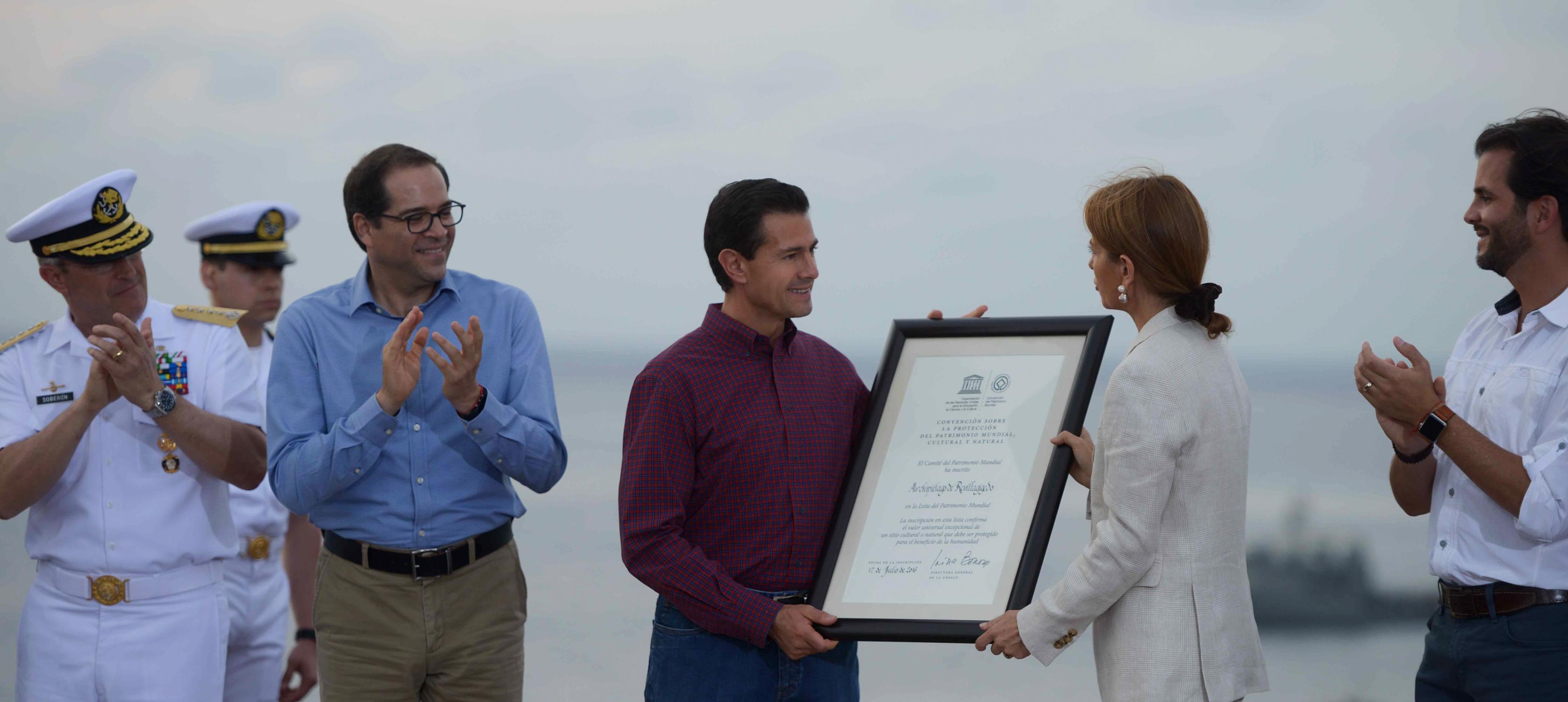 Mexico continues to fulfill its role of global responsibility, and does so through world heritage: UNESCO.