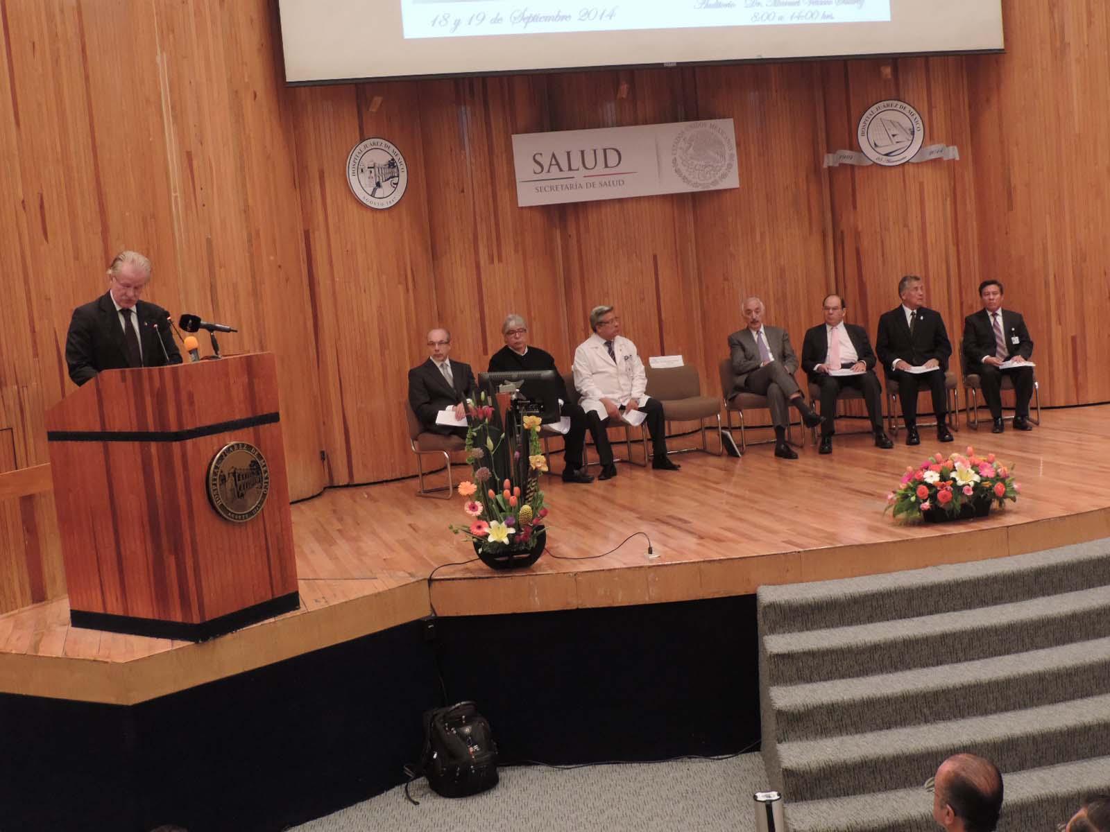Se conmemora el 25 Aniversario del Hospital Juárez de México