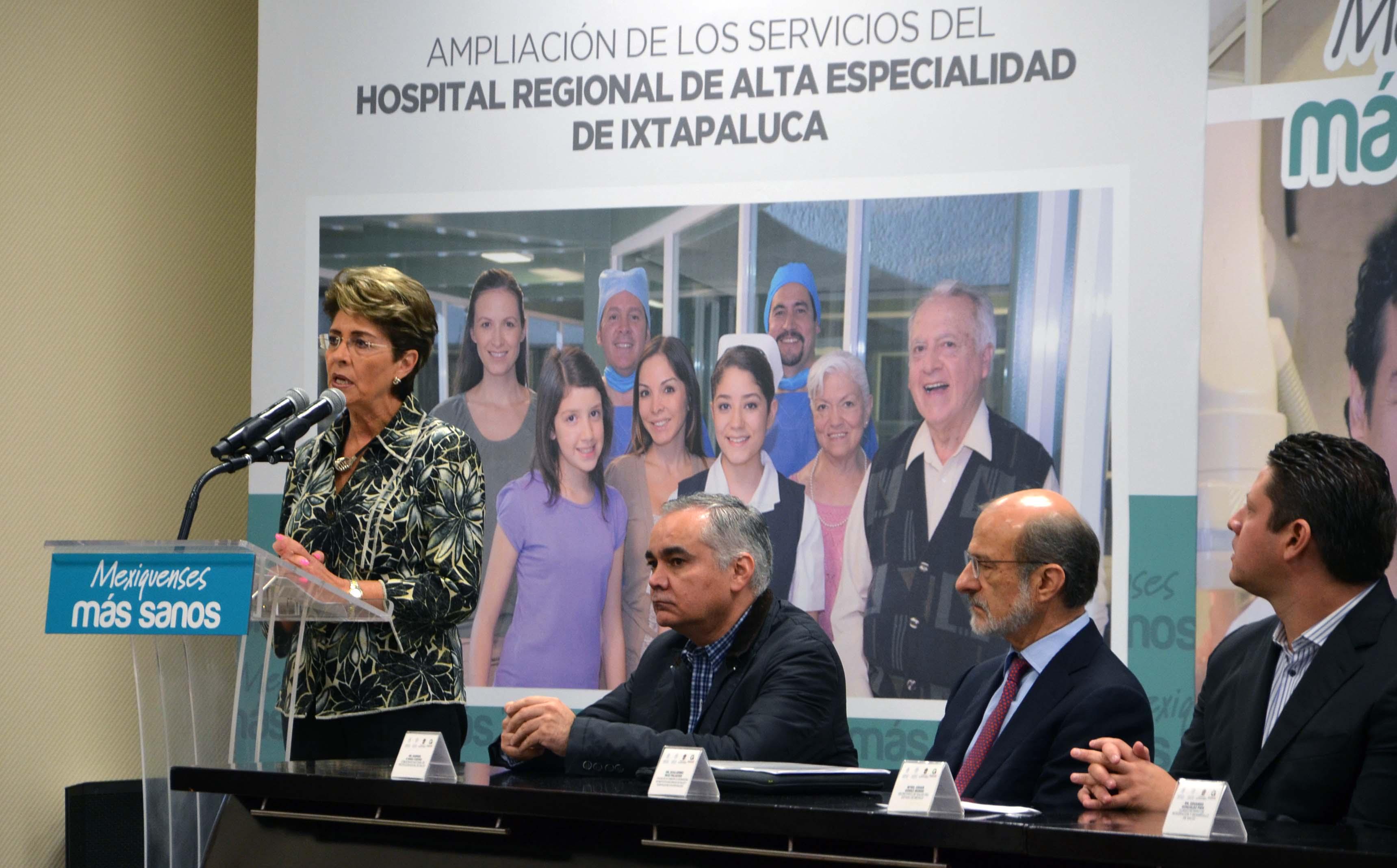 Se amplían servicios del Hospital Regional de alta especialidad de Ixtapaluca (HRAEI)