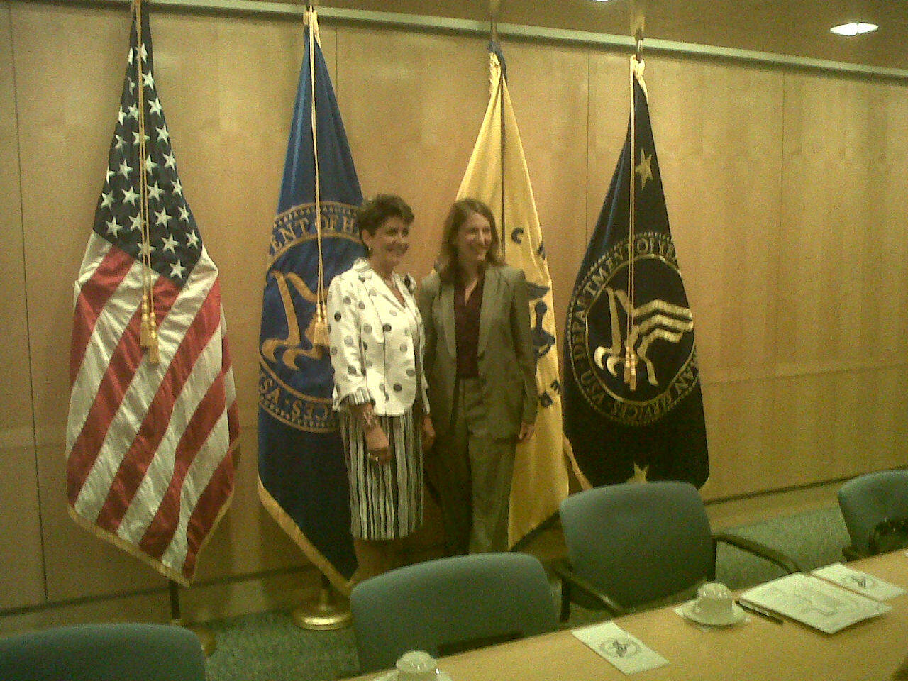 La Secretaria de Salud, Mercedes Juan, se reunió con su homóloga de Estados Unidos, Sylvia Burwell, en Washington, D.C.