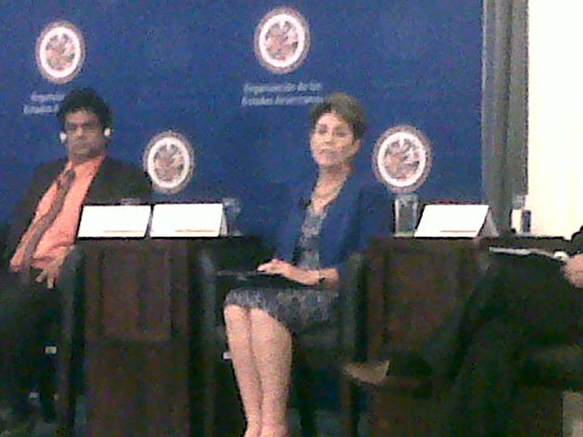 La Secretaria de Salud, Mercedes Juan, presenta la Estrategia Nacional para la Prevención y Control del Sobrepeso, la Obesidad y la Diabetes
