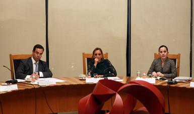 Claudia Ruiz Massieu se reunió con expertos en temas migratorios de Estados Unidos