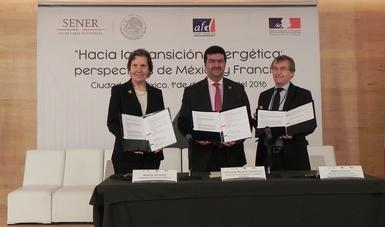 México y Francia intercambian prácticas sobre los retos y metas de la Transición Energética.