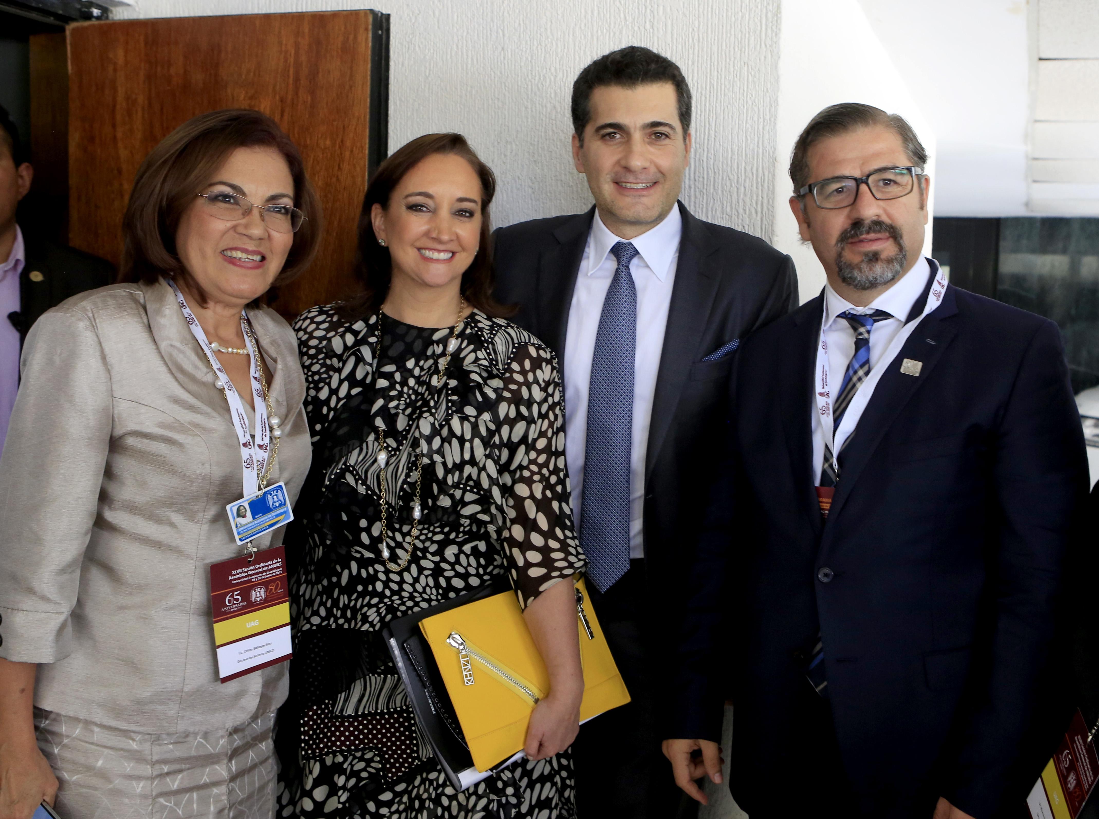 La Titular de la Secretaría de Turismo, Claudia Ruiz Massieu, participó en la XLVII Sesión Ordinaria de la Asamblea ANUIES.