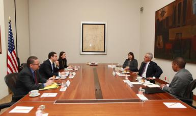 Los Alcaldes de Phoenix y Chicago se reunieron con el Subsecretario para América del Norte