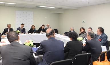 La Canciller Ruiz Massieu en reunión con Cónsules fronterizos en Tucson Arizona