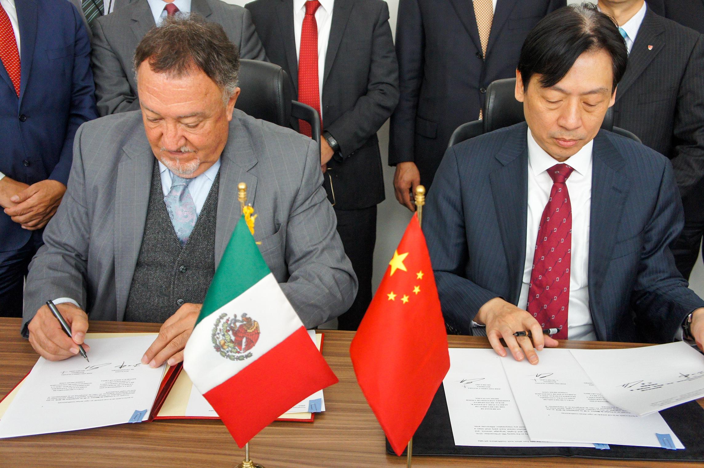 En poco tiempo se alcanzaron grandes acuerdos de intercambio comercial de productos agroalimentarios entre México y la nación asiática.