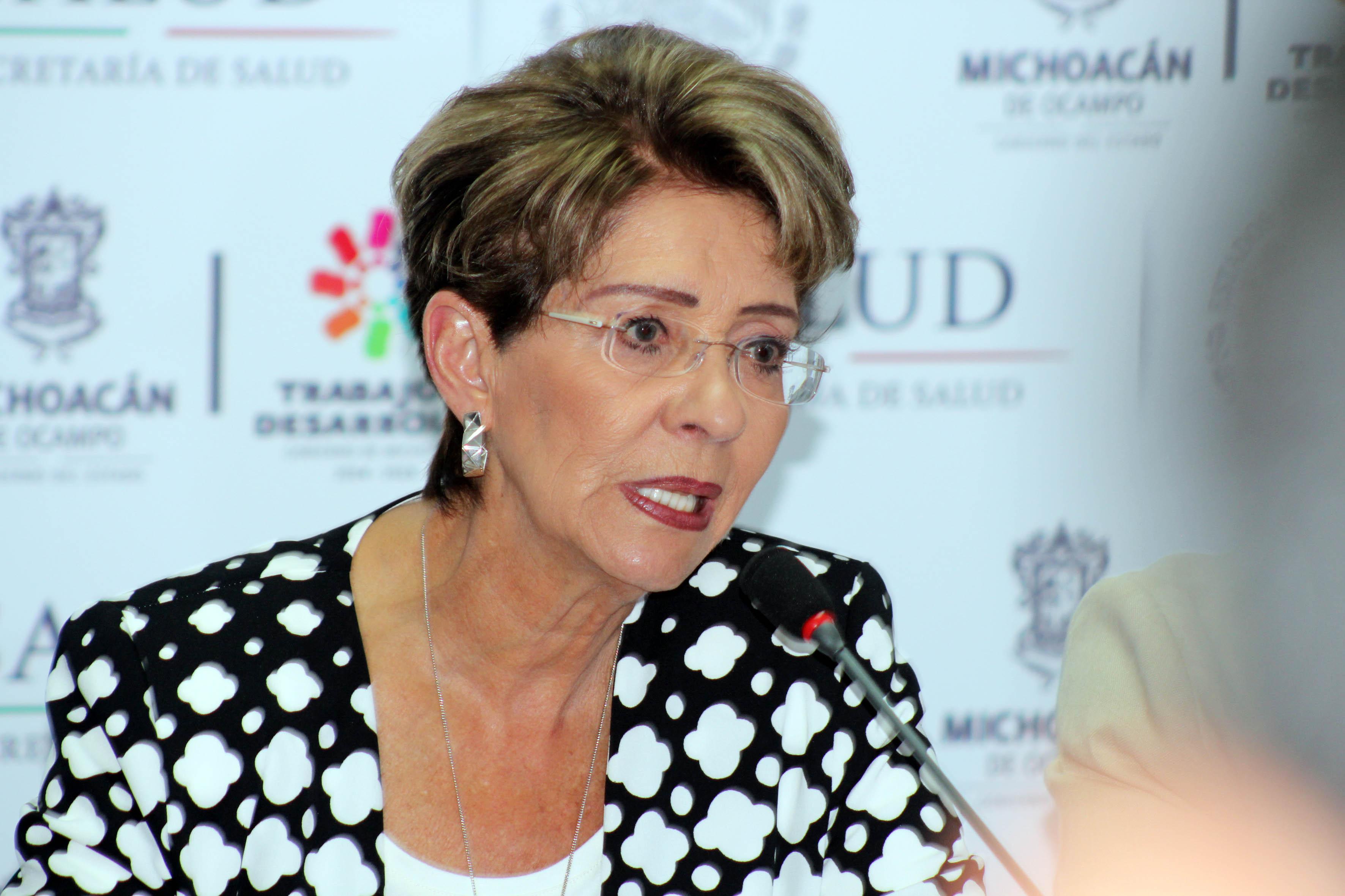 La Secretaria de Salud, Mercedes Juan, realizó una gira de trabajo por el estado de Michoacán