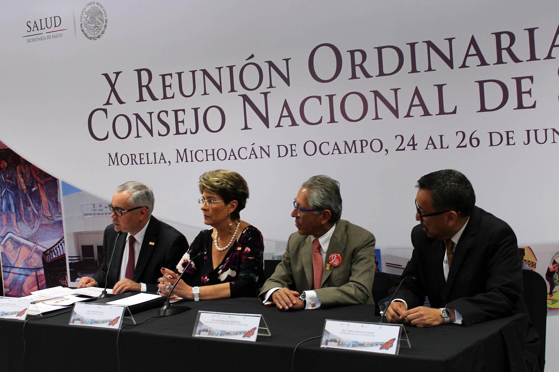 X Reunión Ordinaria del Consejo Nacional de Salud
