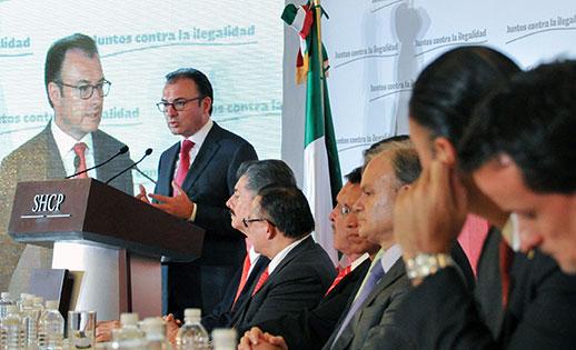 Juntos contra la ilegalidad: Suman esfuerzos Gobierno Federal e Iniciativa Privada