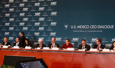 La Secretaria de Relaciones Exteriores Claudia Ruiz Massieu participó en el U.S. -Mexico CEO Dialogue