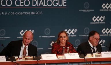 Participa la Canciller Claudia Ruiz Massieu en el U.S. -México CEO Dialogue