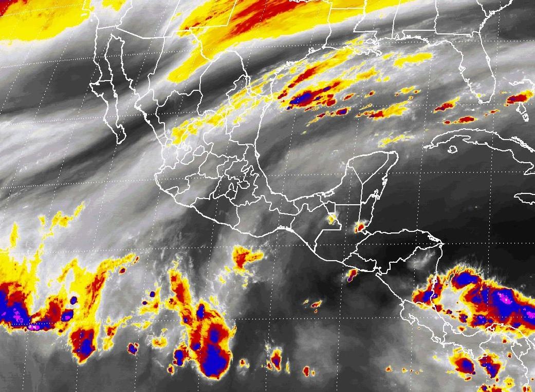 Lluvias y descenso de temperaturas, generará el Frente Frío Número 13 en el norte, el noreste, el oriente y el centro de México