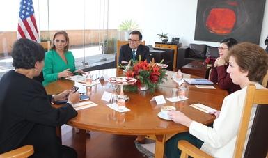 Se llevó a cabo la videoconferencia de medio término del Diálogo Económico de Alto Nivel entre México y Estados Unidos
