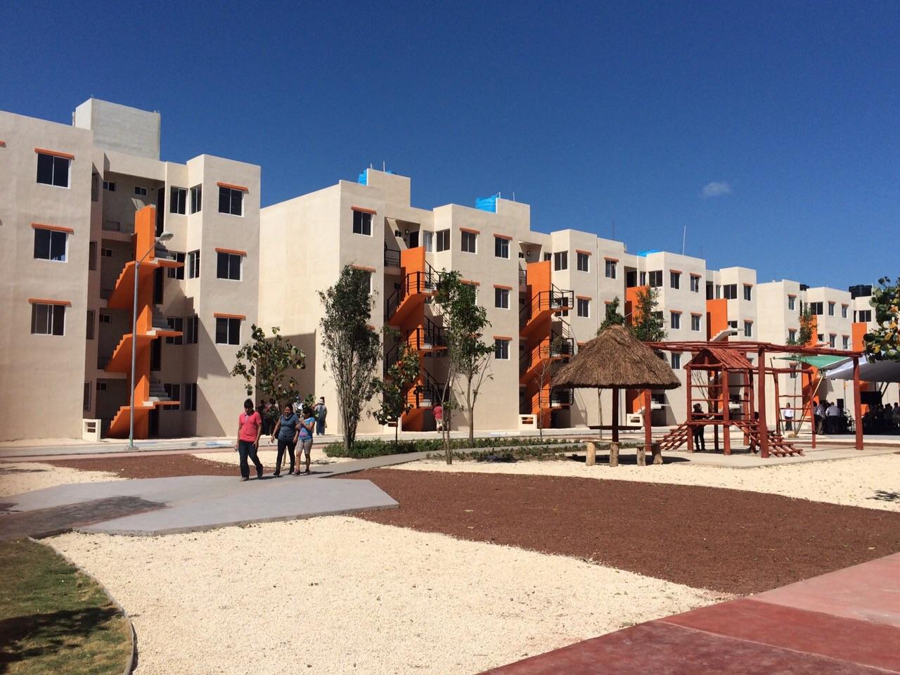 En Mérida, el titular de la SEDATU explicó que el complejo fue construido en suelo intraurbano.