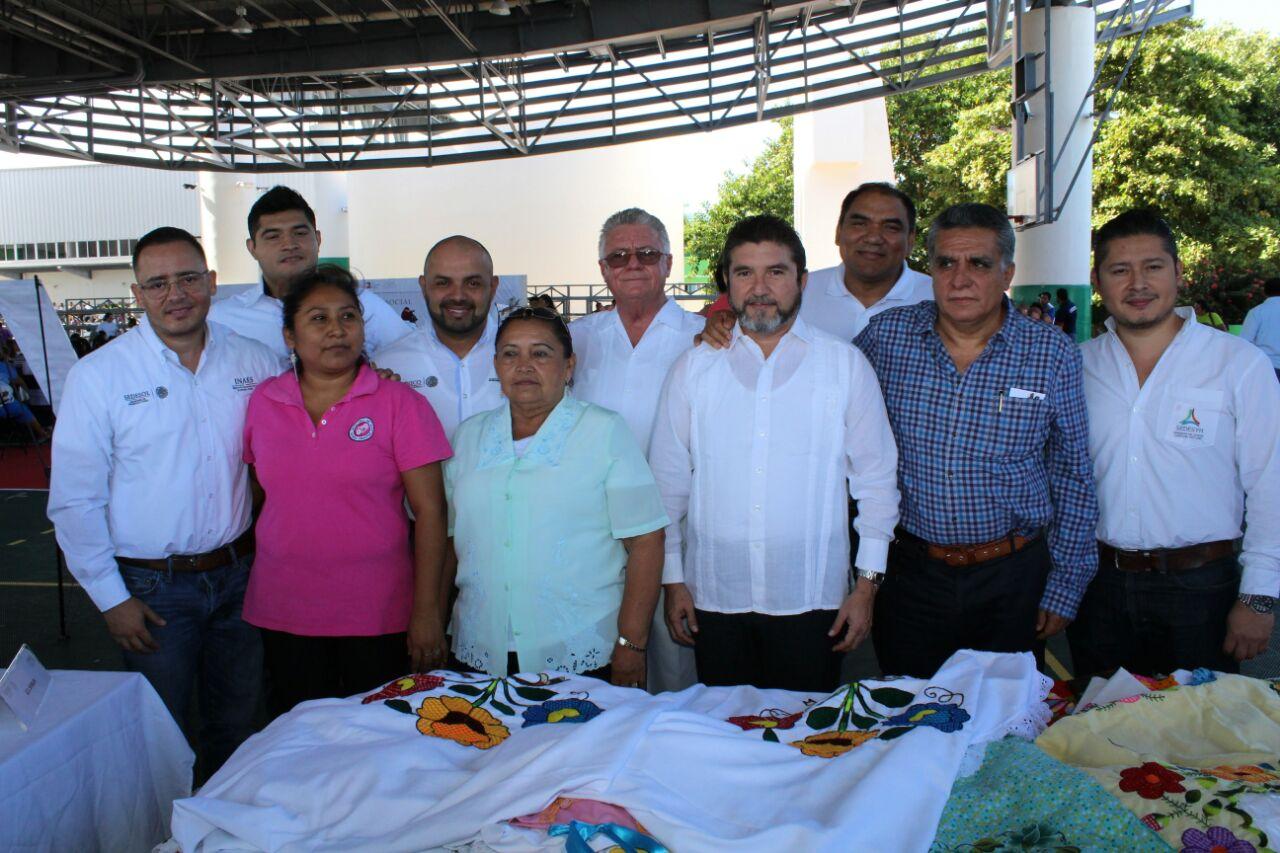 Expo de Economía Social en Campeche