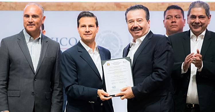 El Primer Mandatario inauguró la Expo México Alimentaria 2016, Food Show.
