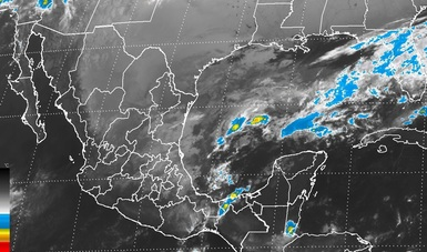 Continuará el ambiente frío en gran parte de México y evento de Norte en el Golfo de México y el Istmo de Tehuantepec
