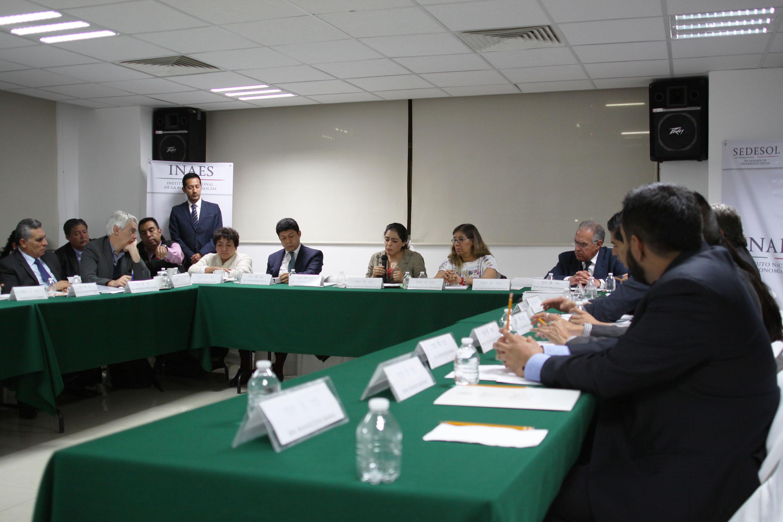 Encabeza Directora General del INAES la Sexta Sesión Ordinaria del Consejo Consultivo del INAES