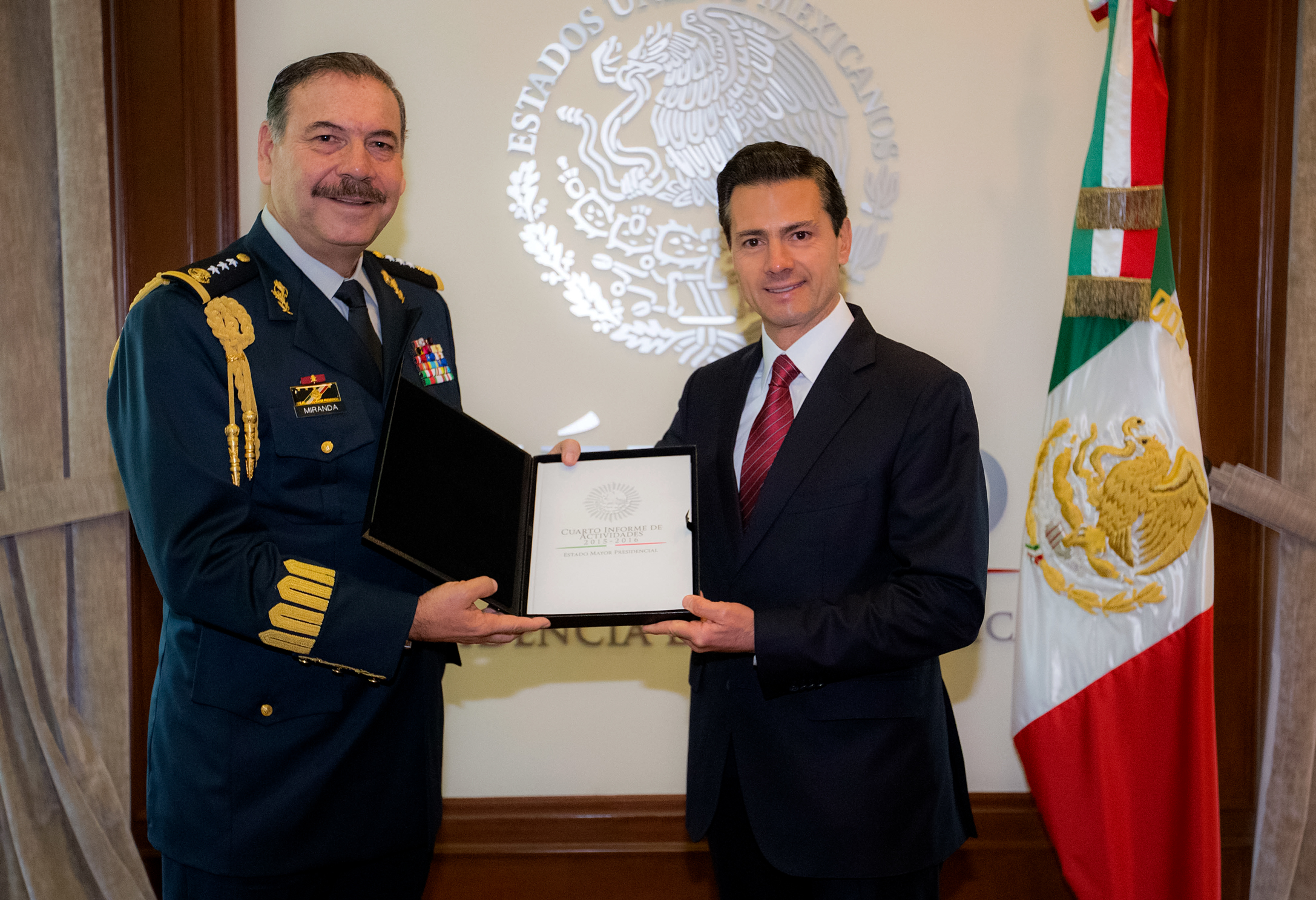 The Head of the Presidential General Staff submitted his Fourth Activities Report 2015-2016