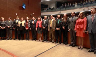El Senado de la República ratifica ocho nombramientos diplomáticos