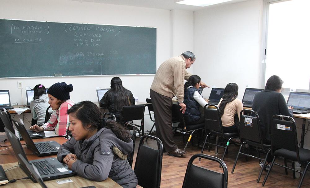 La aplicación se realizó en 12 sedes ubicadas en la Ciudad de México que recibieron a 917 aspirantes a ingresar al Sistema Educativo de Oaxaca