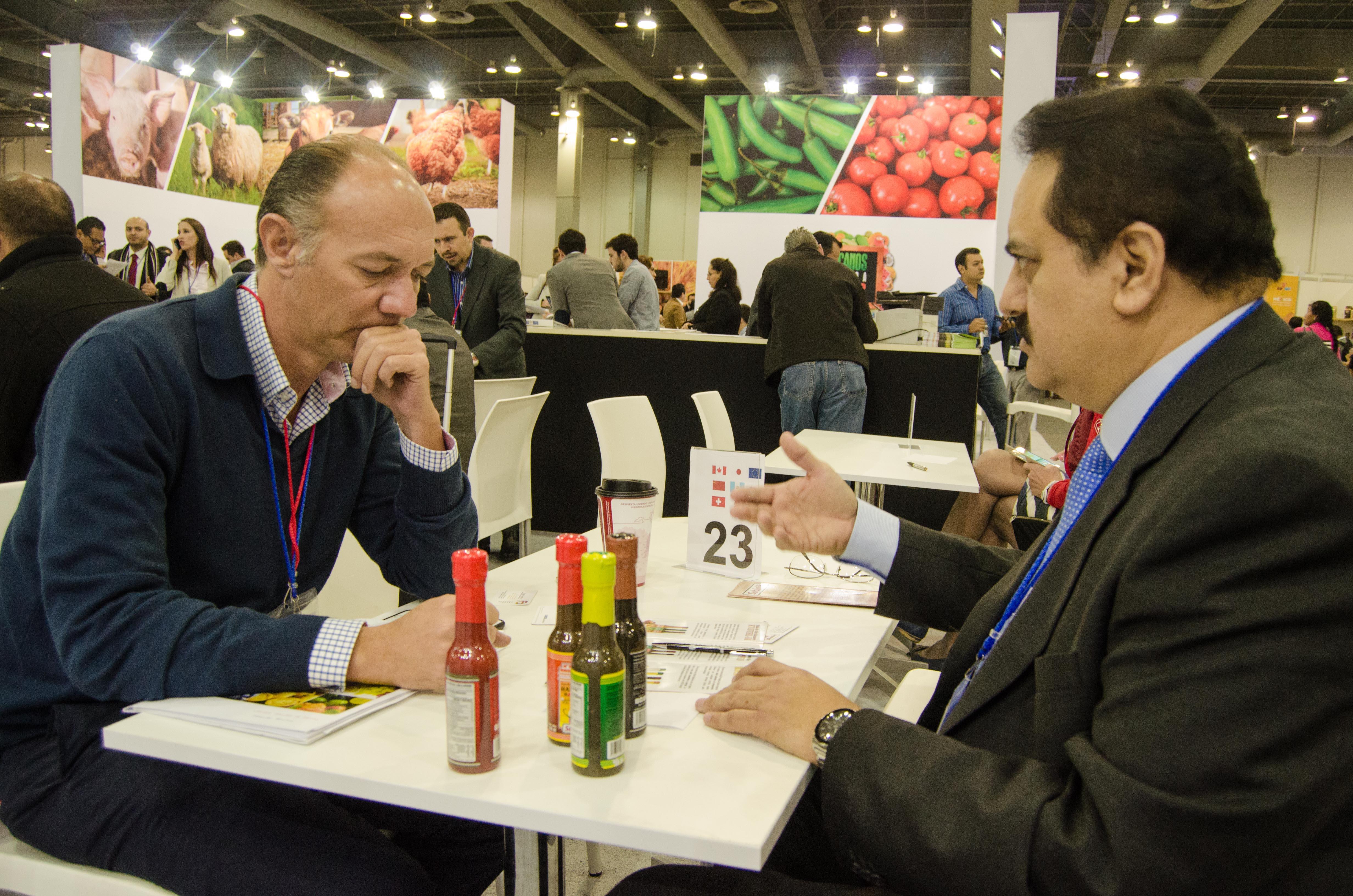 En la México Alimentaria 2016 Food Show se realizaron dos mil 576 encuentros de negocios con empresas internacionales y 645 nacionales.
