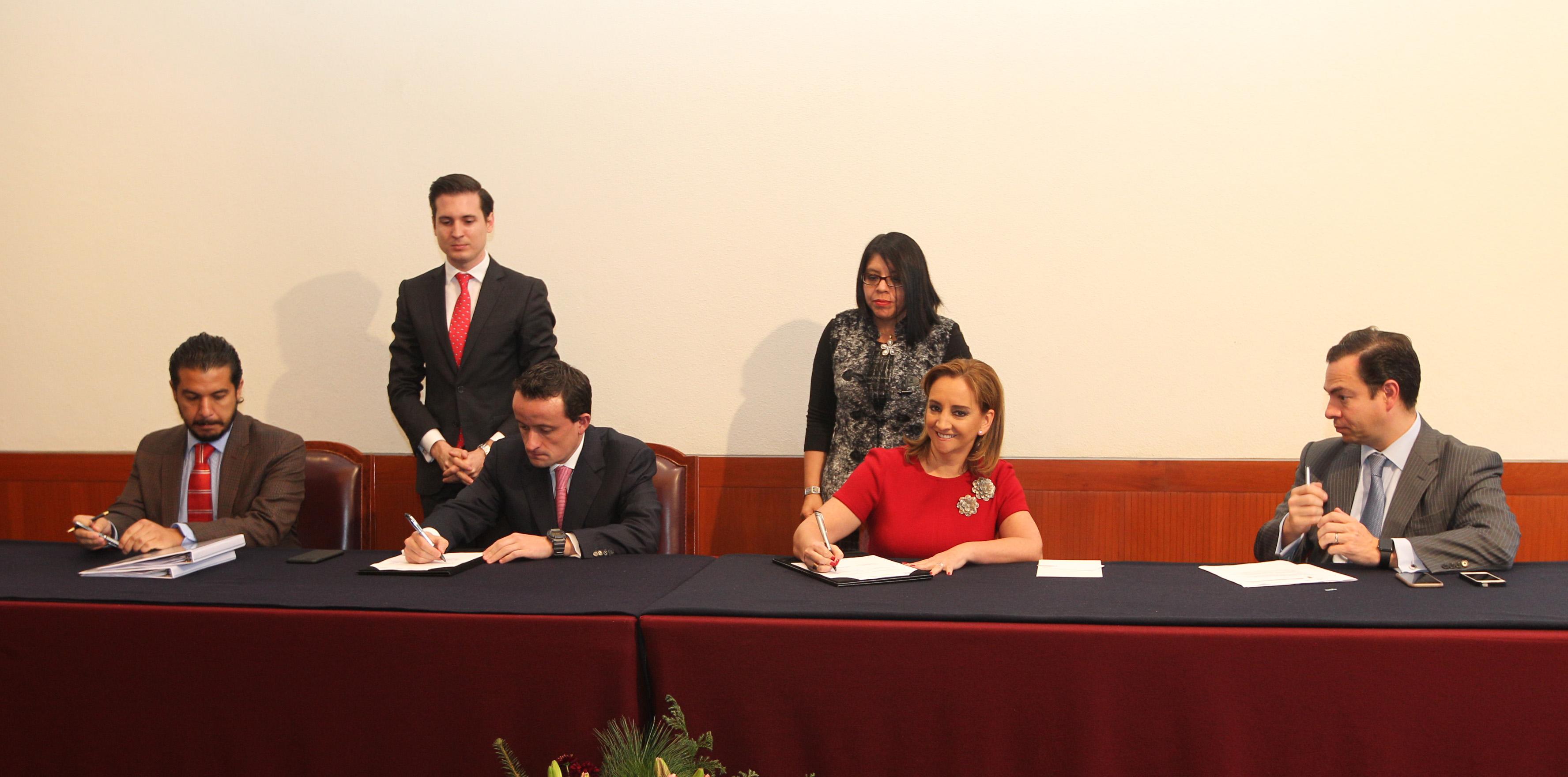 Firman la SRE y el IMSS convenio de colaboración para facilitar trámites y servicios a mexicanos en EUA