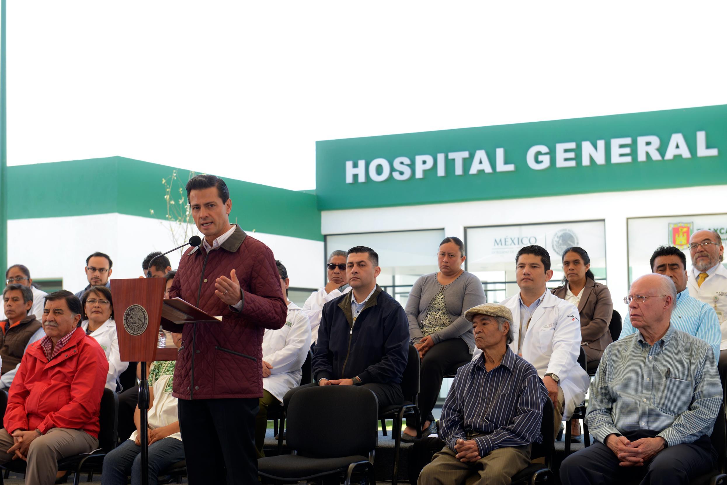 """""""El acercar los servicios de salud a la población es indispensable para que puedan tener calidad de vida y con ello, lograr la concreción de sus proyectos"""": EPN"""