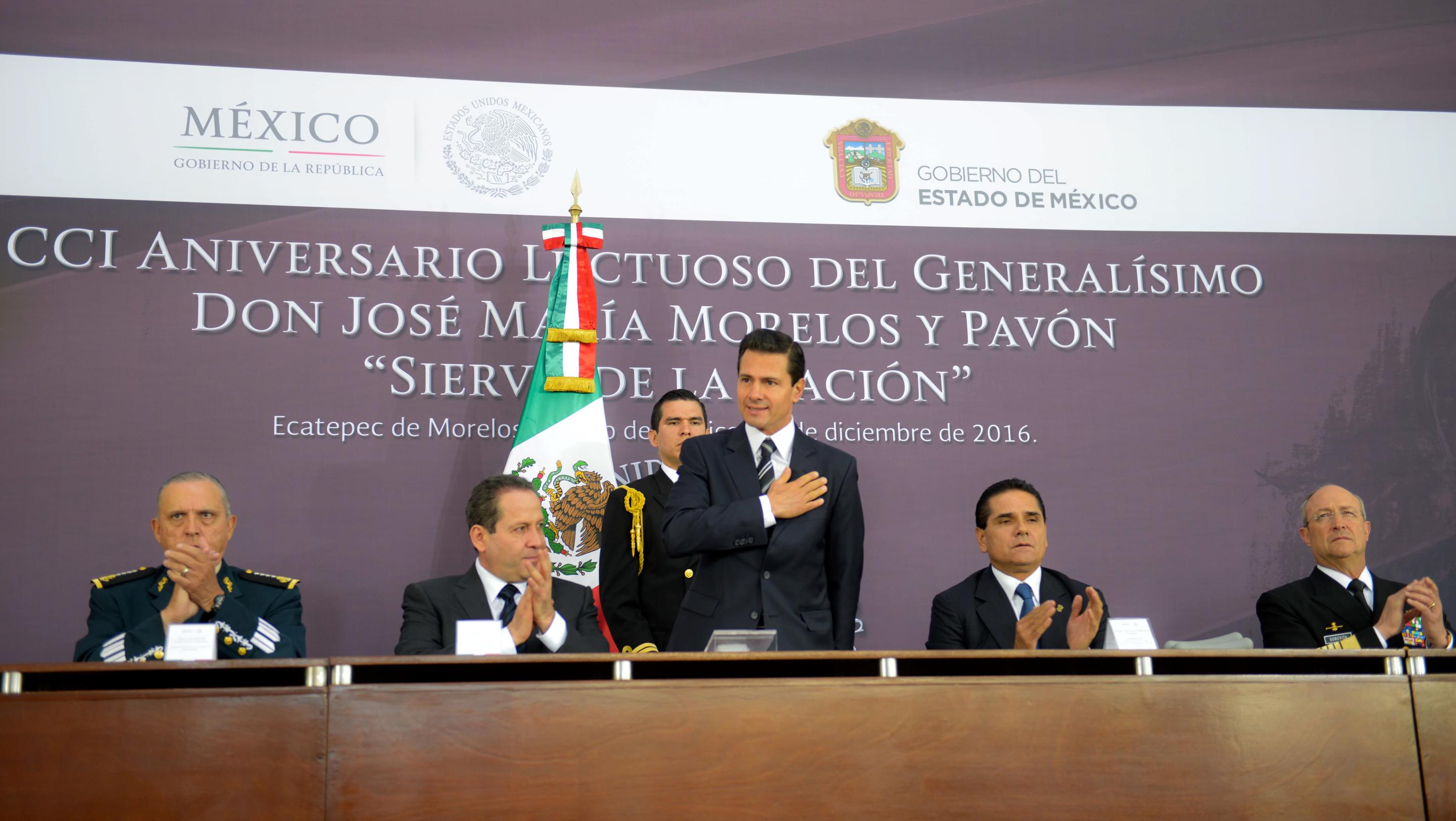 """""""Today we are concerned with providing proper medical care for the injured"""": EPN"""