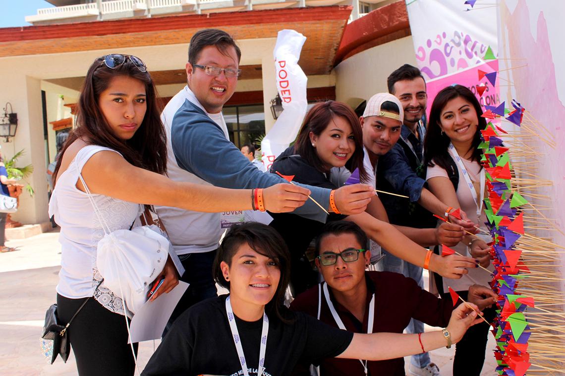 El objetivo de Imjuve es apoyar a la juventud de 12 a 29 años de edad ofreciendo sus diversos programas y servicios.