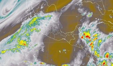 Se pronostican tormentas fuertes en el sureste de México