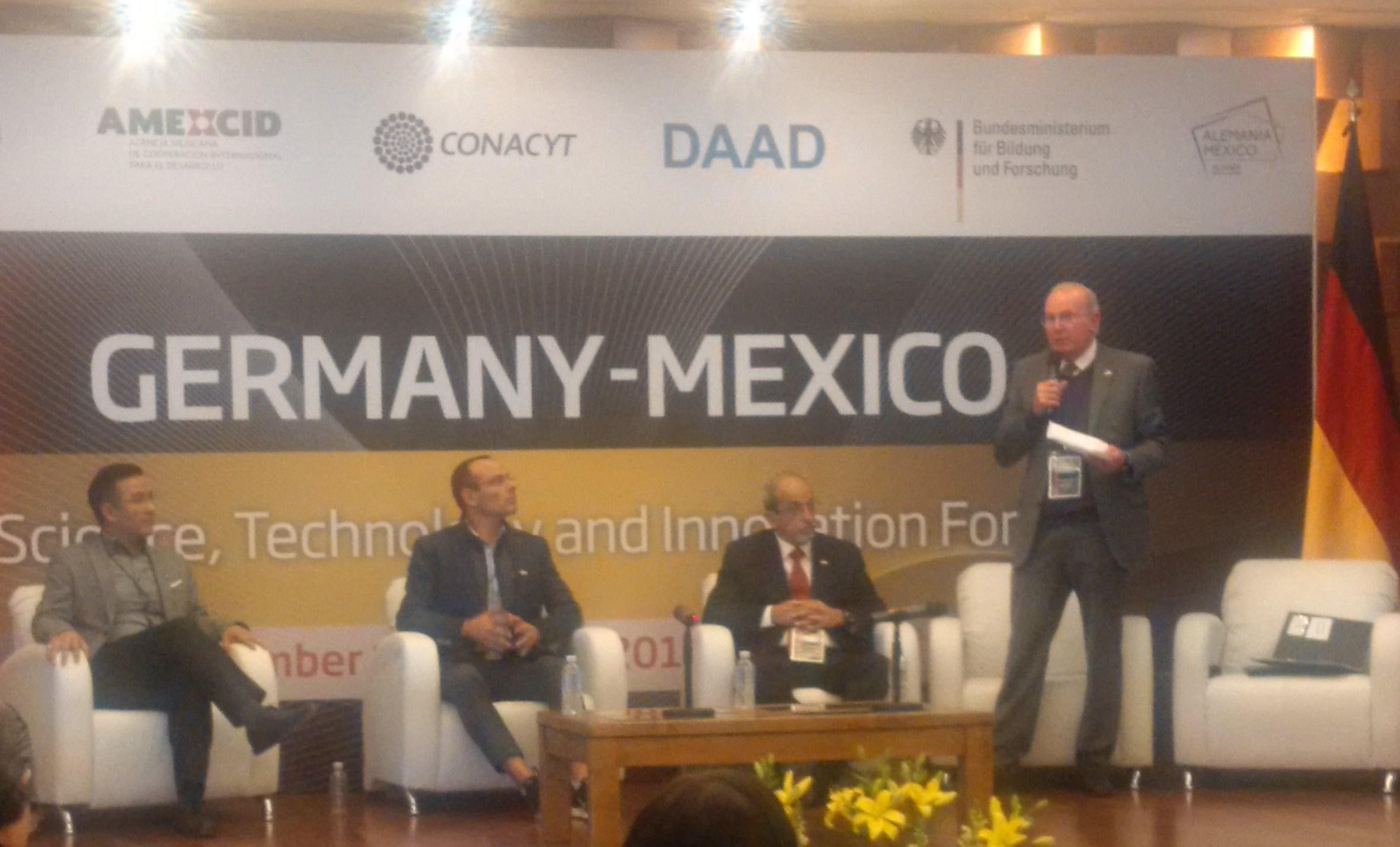 Estrechará AEM intercambio científico y tecnológico aeroespacial con Alemania