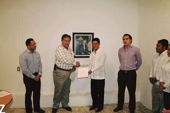 Nombramiento delegado del INAES en Campeche