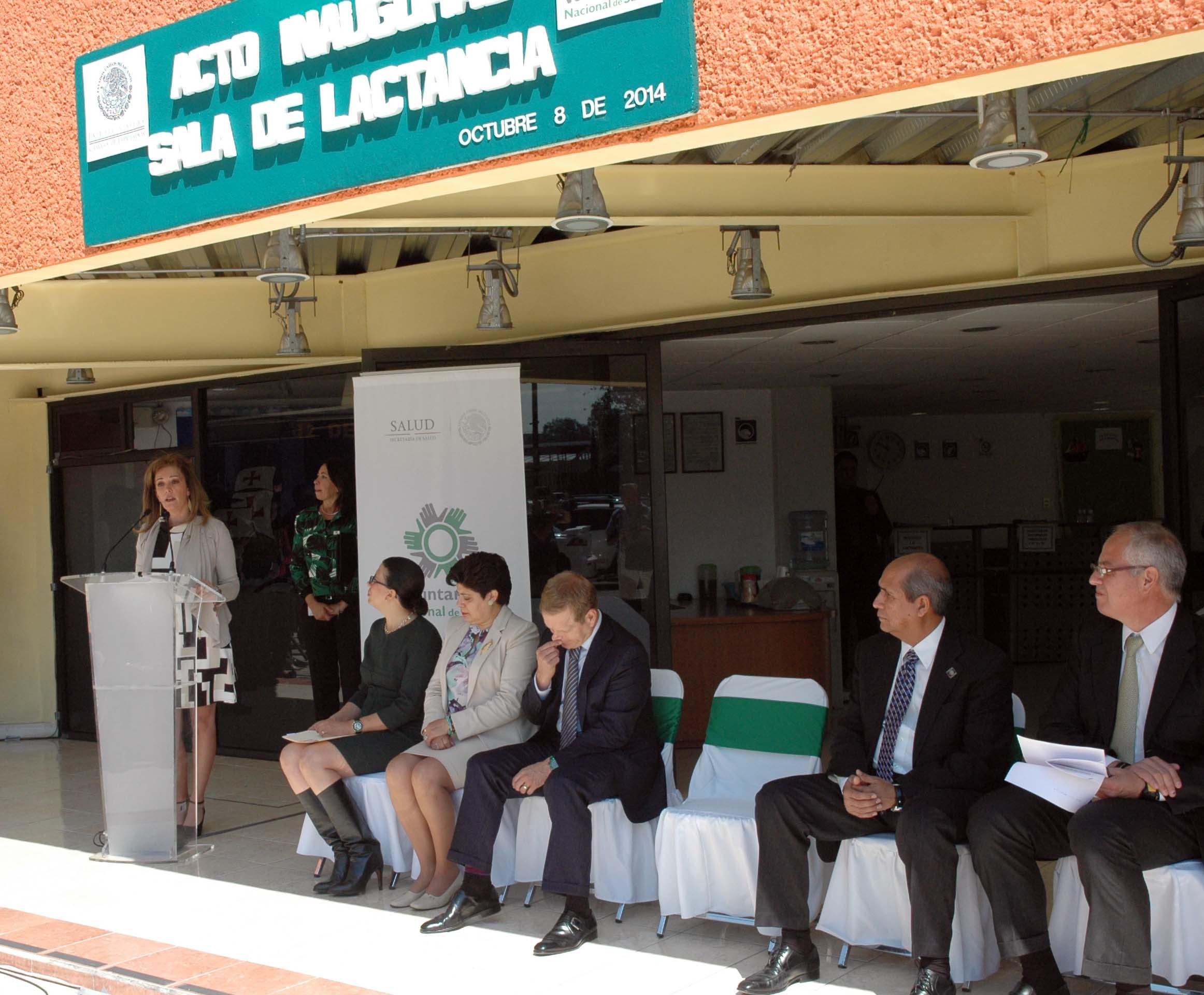 Inauguración de  la Sala de Lactancia de la Cámara de Diputados