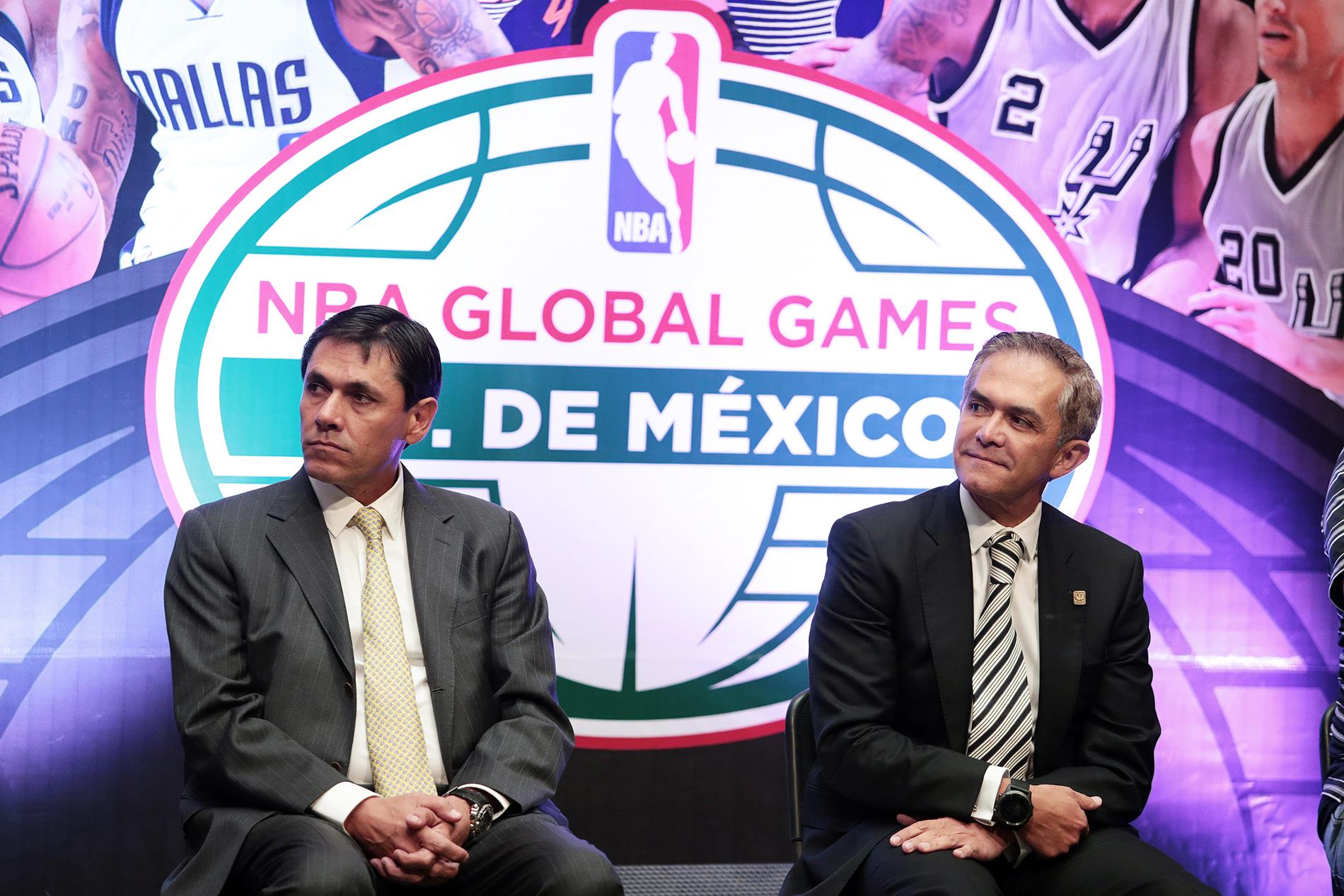 A la presentación de la NBA Global Games, asistió el director de Proyectos Especiales de la CONADE, Manuel Portilla Diéguez, en representación del titular de la dependencia Alfredo Castillo Cervantes.