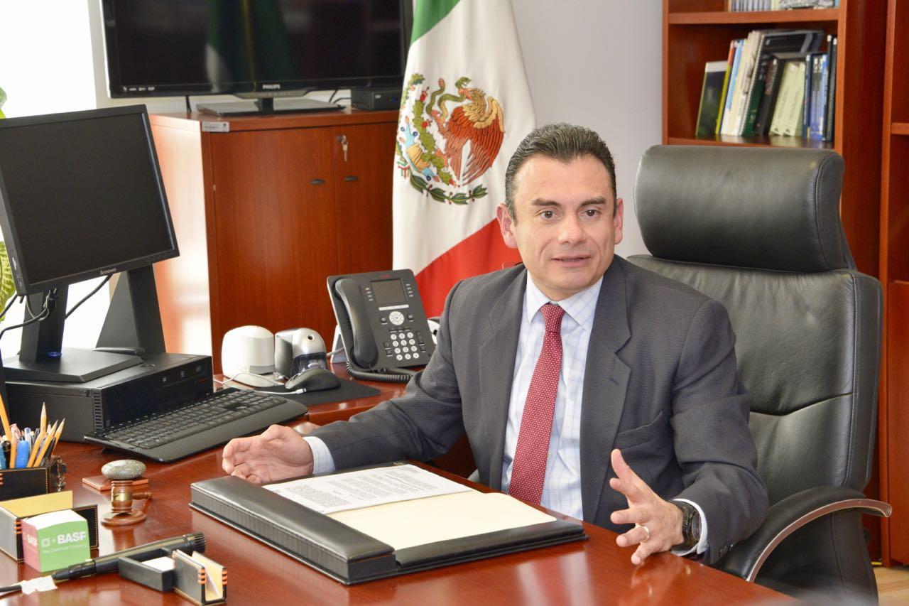 El Subsecretario del Trabajo, Rafael Avante Juárez.