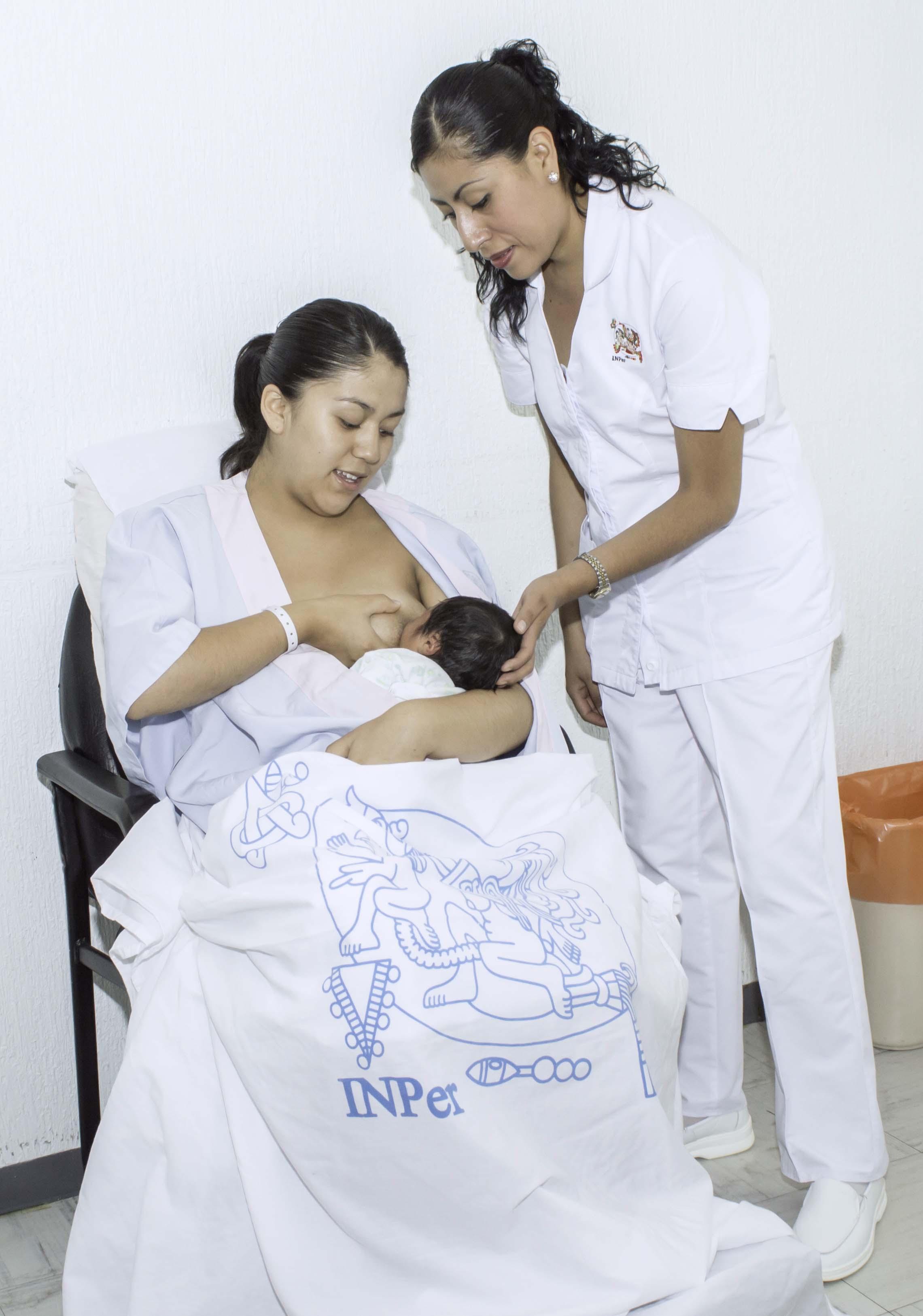 El Instituto Nacional de Perionatología reforzará la cultura de la lactancia materna