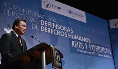 Foro Internacional Personas Defensoras de Derechos Humanos, Retos y Experiencias