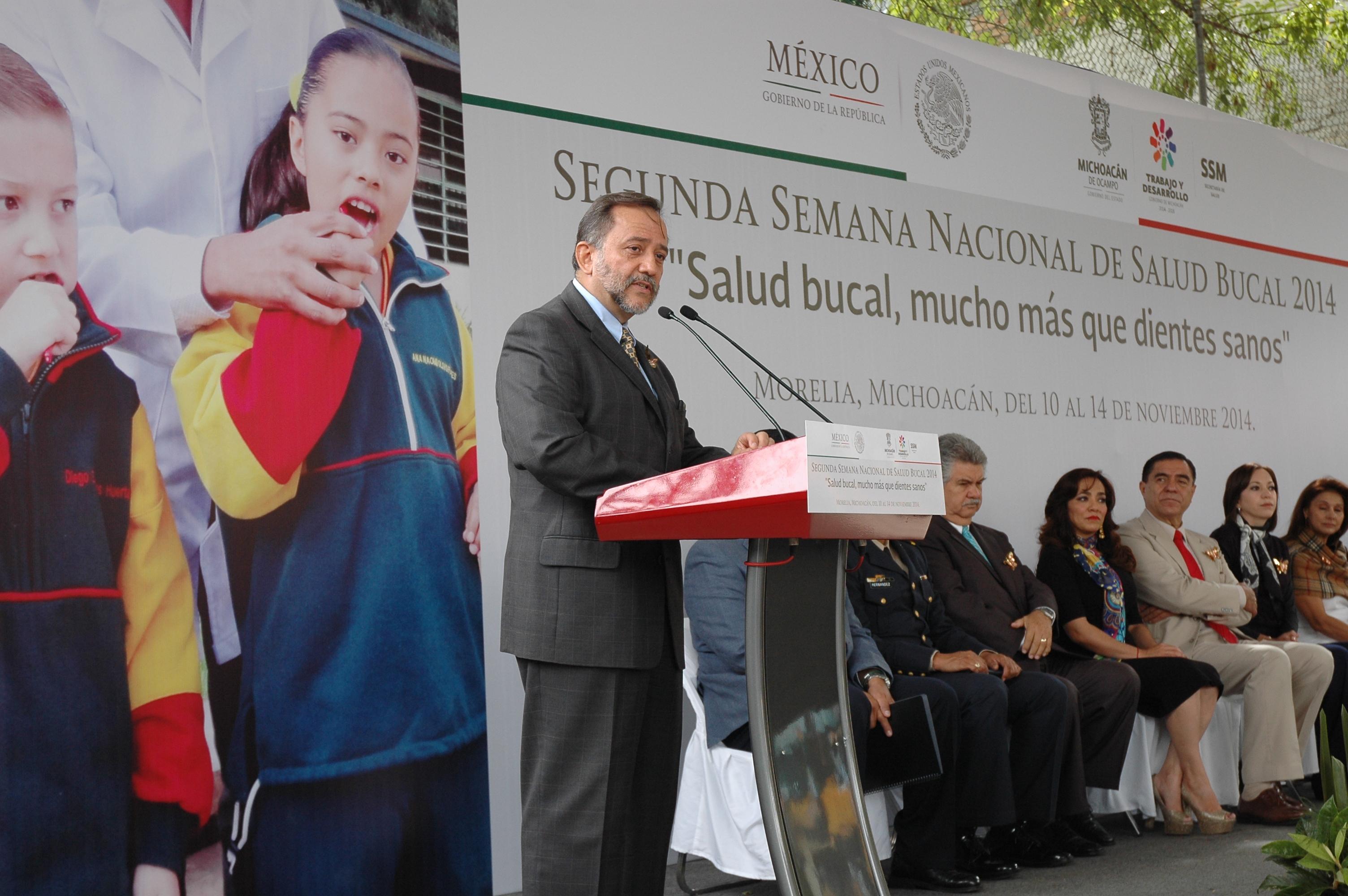 Arranca en Morelia Michoacán, Segunda Semana  Nacional Bucal