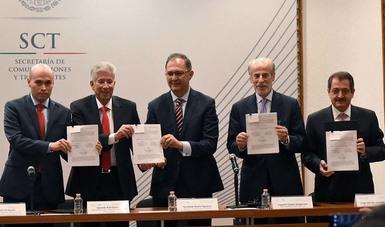 Concluye SCT el concurso de la red compartida, el proyecto más importante de la reforma de telecomunicaciones: Ruiz Esparza