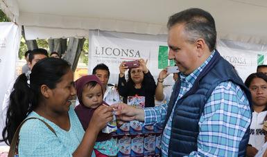 Liconsa fortalece presencia en comunidades indígenas
