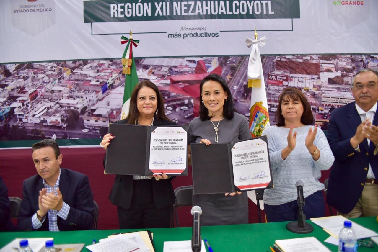 Firman STPS y gobierno del Estado de México Convenio para ... - photo#46