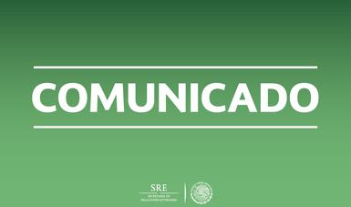 Comunicado SRE