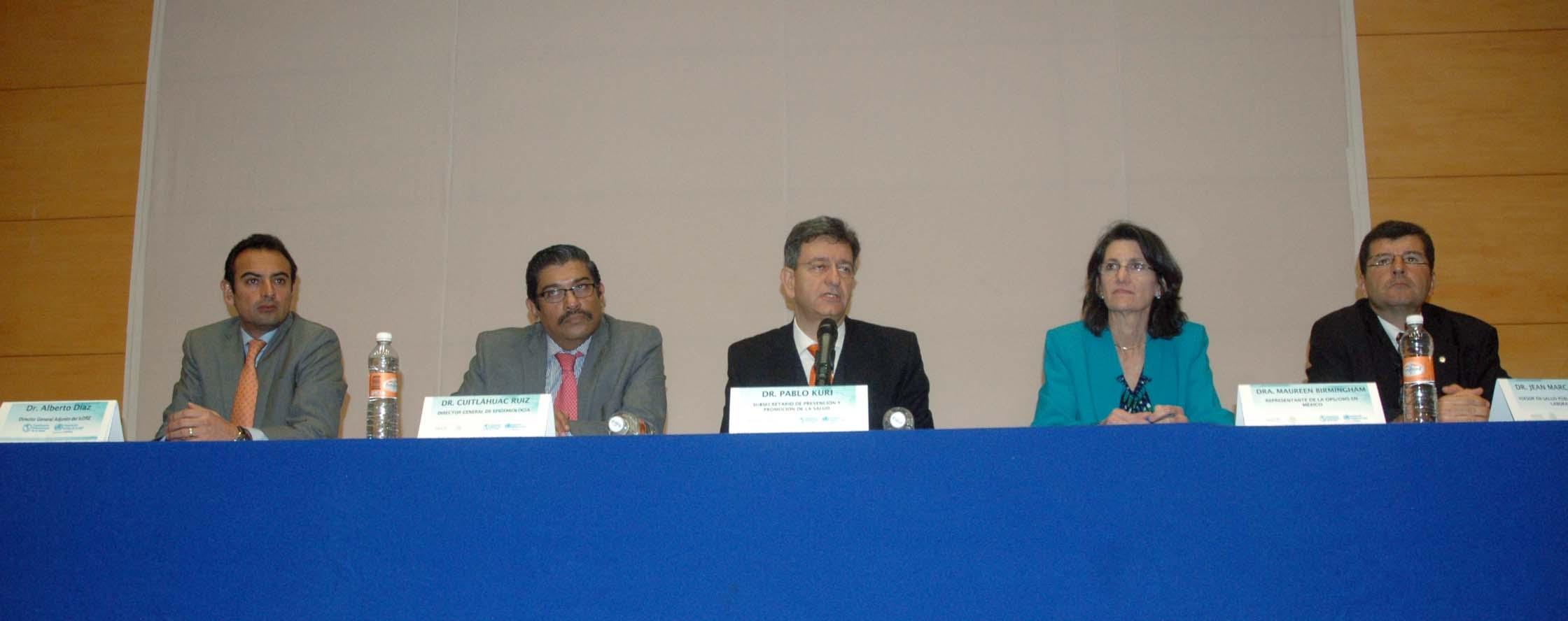 Reunión en el InDRE de representantes de los Laboratorios Nacionales de Referencia de la Región de las Américas