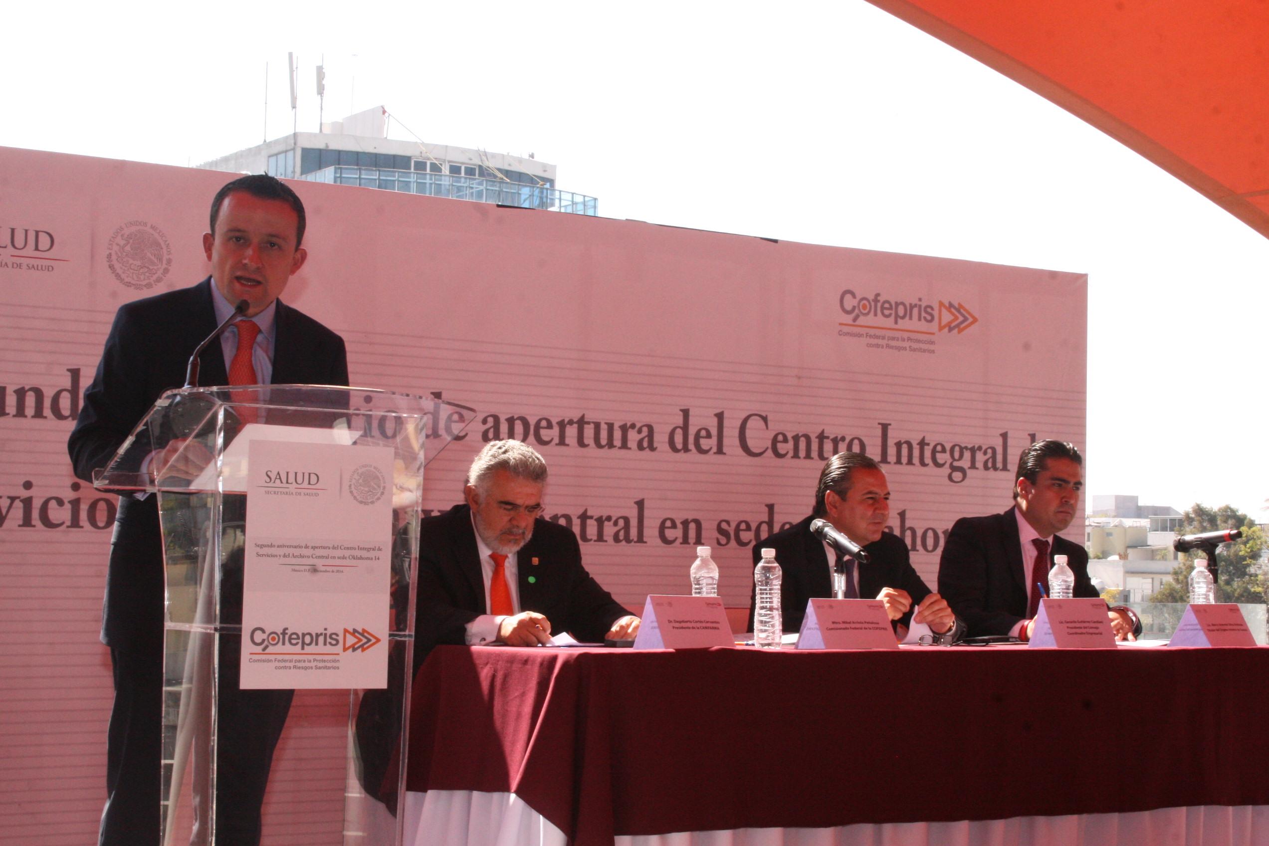 La SS presenta al CCE avances de las estrategias de atención ciudadana y promoción de exportaciones