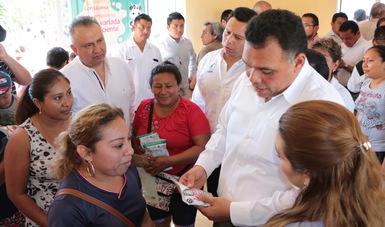 El municipio de Chemax, Yucatán se suma a los 300 que se incorporan al programa de Liconsa a un peso