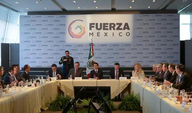"""El Presidente de la República designó a los Secretarios de Relaciones Exteriores y de Economía como enlaces del Gobierno de la República para apoyar las acciones de """"Fuerza México""""."""