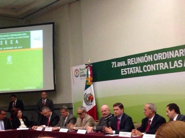 71 Reunión del Consejo Estatal contra las Adicciones (CECA)